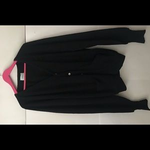 Large Men's Black Wool Sweater Original Owner